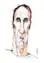 Cartoon: Will Self (small) by barker tagged will,self,caricature,cartoon