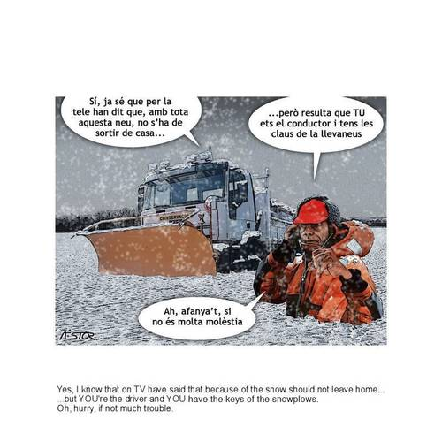 Cartoon: Nevada (medium) by nestormacia tagged humor,snow,winter