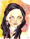 Cartoon: Amy Lee (small) by wwoeart tagged amy,lee