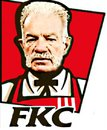 Cartoon: Rev Terry Jones Caricature (small) by Tzod Earf tagged rev terry jones kentucky fried chicken