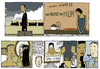 Cartoon: un padre da film (small) by marco petrella tagged writers