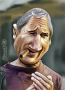 Cartoon: Liam Neeson (small) by Jiwenk tagged liam,neeson