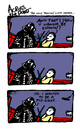 Cartoon: only Star Wars revision needed (small) by ericHews tagged star,wars,darth,vader,luke,skywalker,duel,light,saber