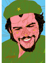 Cartoon: Guevara (small) by omar seddek mostafa tagged guevara