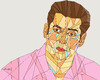 Cartoon: Salman Khan (small) by omar seddek mostafa tagged salman,khan
