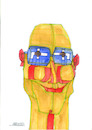 Cartoon: The glasses (small) by omar seddek mostafa tagged the,glasses