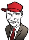 Cartoon: niki lauda (small) by wolfi tagged wolfgang,lauda,niki,caricature,austria