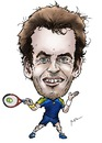 Cartoon: Andy Murray (small) by Perics tagged andy,murray,caricature,tennis,atp,tour,wimbledon,champion,scotland