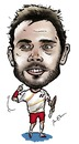 Cartoon: Stanislas Wawrinka (small) by Perics tagged stanislas,wawrinka,caricature,australian,open,champions,switzerland,tennis,wimbledon,melbourne,serve,volley