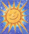 Cartoon: Shine (small) by Kerina Strevens tagged sun shine sunshine bright solar sky cartoon fun humour
