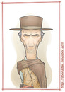 Cartoon: Clint Westernwood (small) by Freelah tagged clint eastwood the good bad and ugly