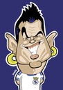 Cartoon: C Ronaldo (small) by Ca11an tagged cristiano ronaldo caricature real madrid football