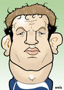 Cartoon: Jason White (small) by Ca11an tagged jason,white,scotland,rugby,nations