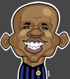 Cartoon: Samuel Eto (small) by Ca11an tagged samuel,eto,inter,milan,cameroon,world,cup,legend,football