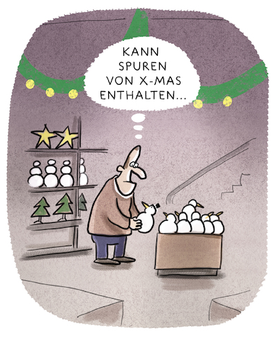 Cartoon: .... (medium) by markus-grolik tagged weihnachten,konsum,mas,winter,heilig,abend,geschenk,schneemann,weihnachten,konsum,mas,winter,heilig,abend,geschenk,schneemann