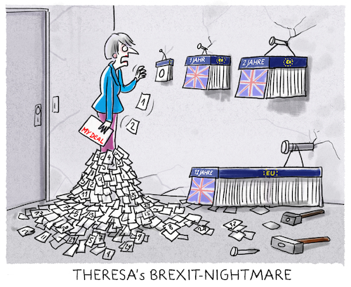Cartoon: ... (medium) by markus-grolik tagged london,parlament,brexit,brexiteer,theresa,may,backstop,klausel,irland,europa,corbin,frist,merkel,grossbritannien,briten,verlaengerung,bruessel,juncker,termin,london,parlament,brexit,brexiteer,theresa,may,backstop,klausel,irland,europa,corbin,frist,merkel,grossbritannien,briten,verlaengerung,bruessel,juncker,termin