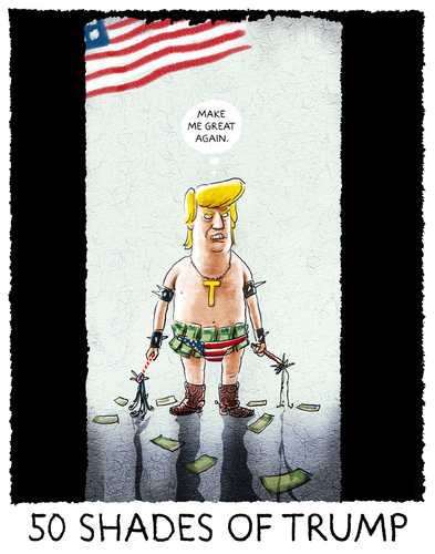Cartoon: ...coming soon... (medium) by markus-grolik tagged trump,horror,usa,amerika,präsident,regierung,kabinett,welt,trump,horror,usa,amerika,präsident,regierung,kabinett,welt