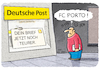 Cartoon: .... (small) by markus-grolik tagged post,porto,erhöhung,brief,deutsche,cartoon,grolik