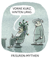 Cartoon: ... (small) by markus-grolik tagged frisur,frisör,haare,mythen,vokuhila,antike
