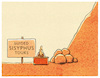 Cartoon: .... (small) by markus-grolik tagged natur,sisyphus,wandern,berg,mensch,tour,tourismus