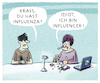 Cartoon: Ansteckungsgefahr (small) by markus-grolik tagged you,tube,influencer,grippe,internet,werbung,web,blog,blogger,netz,follower,facebook,google,twitter,instagramm,pinterest,krankheit,pharma,marketing,konzerne