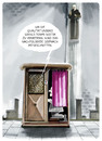 Cartoon: Closer to heaven... (small) by markus-grolik tagged kirche,service,dienstleistung,beichte,religion,gott,hotline,qualitätssicherung,telefon,kredit,kommunikation,cartoon,grolik