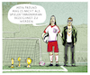 Cartoon: ..Fussballspieler innen... (small) by markus-grolik tagged dfb,frauenfussball,gleichberechtigung,gender,metoo