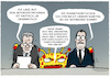 Cartoon: Hilferuf... (small) by markus-grolik tagged intensivbetten,triage,wieler,rki,spahn,gesundheitsminster,deutschland,welle,pandemie