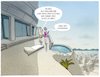 Cartoon: Krisengewinner (small) by markus-grolik tagged reich,arm,spaltung,milliardäre,geld,luxus,armut,villa,pool