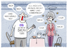 Cartoon: Rule Britannia... (small) by markus-grolik tagged theresa,may,brexit,backstop,harter,london,europa,eu,brüssel,nordirland,zoll,grenze