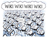 Cartoon: wiki-leaks (small) by markus-grolik tagged wiki,leaks,wikileak,wikileakage,steuer,enthüllungen