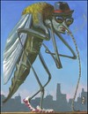 Cartoon: cardio (small) by greg hergert tagged cardio,mosquito,exercise