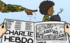 Cartoon: Boko Haram (small) by Mandor tagged boko,haram,charlie,hebdo