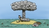 Cartoon: Deserved island (small) by Mandor tagged desert,island,beans