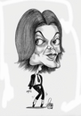 Cartoon: Michael Jackson (small) by Szena tagged michael,jackson,caricatur