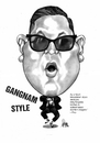 Cartoon: PSY (small) by Szena tagged gangnam,style,singer,korea,psy