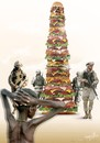 Cartoon: power imposes its values... (small) by LuciD tagged hamburgerbig,berburger,monument,power,imposes,afrik,phallusburger,poverty,africa,hunger,nonconventional,metaphor,lucid,lucido5,surrelism,times,art,nature,creation,god,divin,zodiac,love,peace,humor,world,fasion,sport,music,real,animals,happy,holy,drawings
