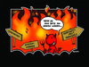 Cartoon: Welcome To Hell (small) by Marcus Trepesch tagged hell,devil,satan,heidi,klum