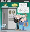 Cartoon: Still at large 113 (small) by bindslev tagged computer,edb,pc,large,super,hacker,hacking,hackers,hacks,hack,old,system,office,business,technology,free,employees,manager,cybercrime,cyber,crime,crimes,cybercrimes