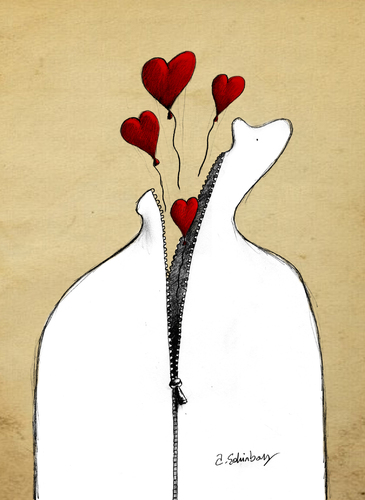 Cartoon: accumulated loves (medium) by aytrshnby tagged accumulated,loves