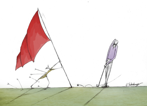 Cartoon: flag (medium) by aytrshnby tagged flag