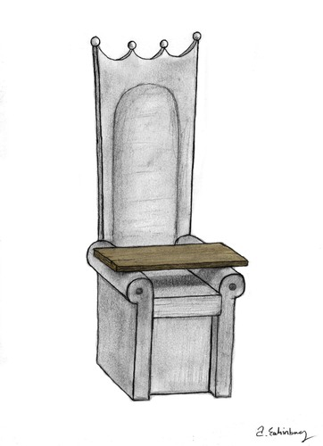 Cartoon: throne (medium) by aytrshnby tagged throne
