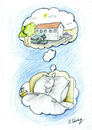 Cartoon: dream in the dream (small) by aytrshnby tagged dream,in,the