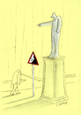 Cartoon: pericoloso (small) by aytrshnby tagged pericoloso