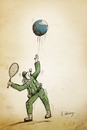 Cartoon: tennis (small) by aytrshnby tagged tennis