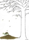Cartoon: tree (small) by aytrshnby tagged tree