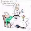 Cartoon: Cafe Latte (small) by Storch tagged cafe,caffe,kaffee,latte,kellner,ober,mann,sex