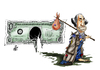 Cartoon: no title (small) by Nikola Otas tagged dolar