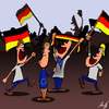 Cartoon: Euro 2012 (small) by Anjo tagged euro,fussball,fussballfan,fan,europa,deutschland