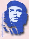 Cartoon: che guevara stencil (small) by indika dissanayake tagged che,guevara